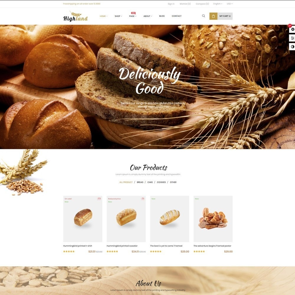 theme - Food & Restaurant - Bos Highlands Food & Drink Store - 3