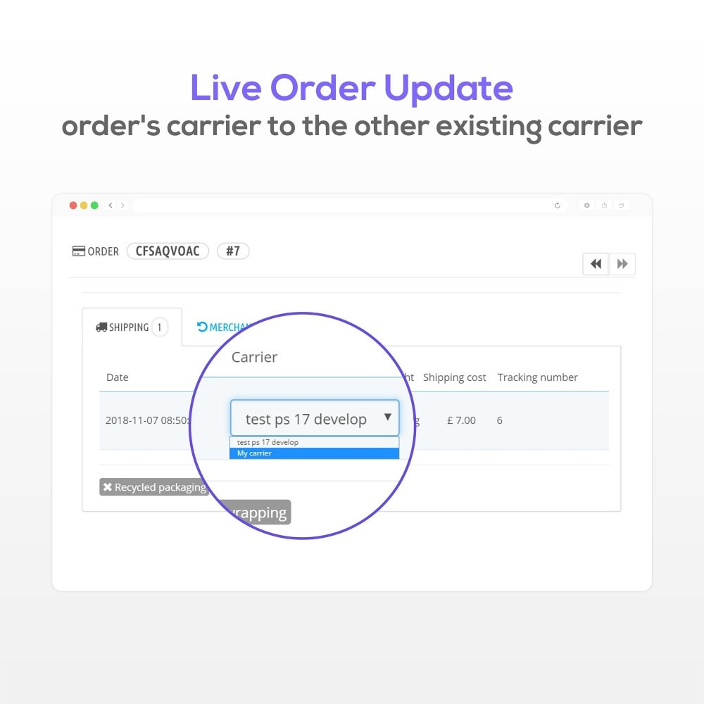 module - Order Management - Order edit - 3