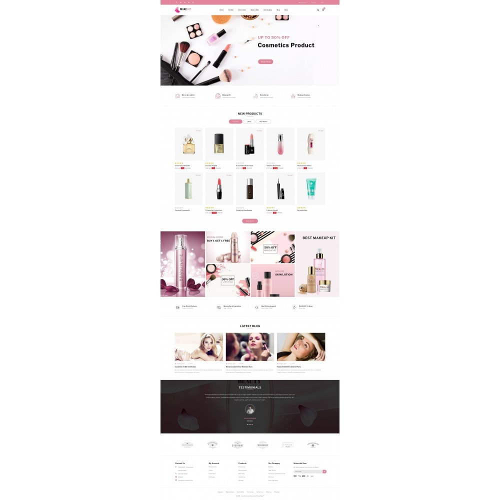 theme - Saúde & Beleza - Make Kit - Beauty Store - 2