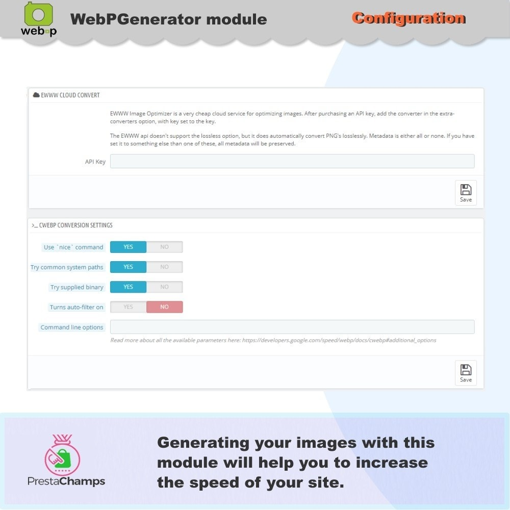 module - Visual Products - Google WebP Image Generator - 2020 Update - 9