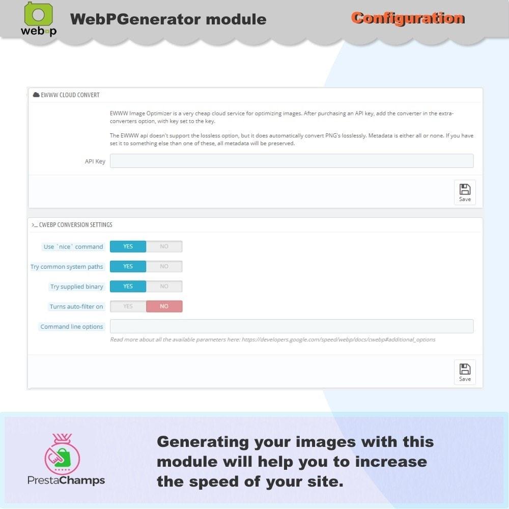 module - Visualizzazione Prodotti - Google WebP Immagine Generatore - 9