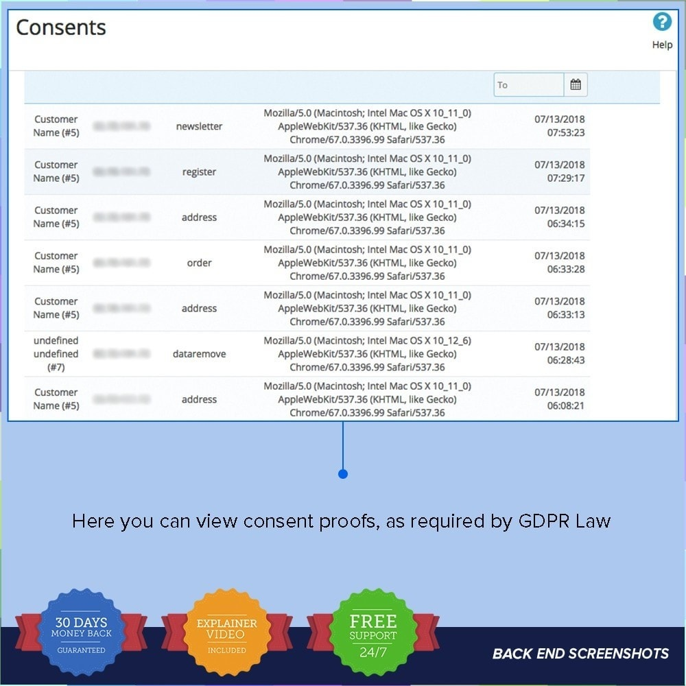 module - Juridisch - EU GDPR - General Data Protection Regulation - 8