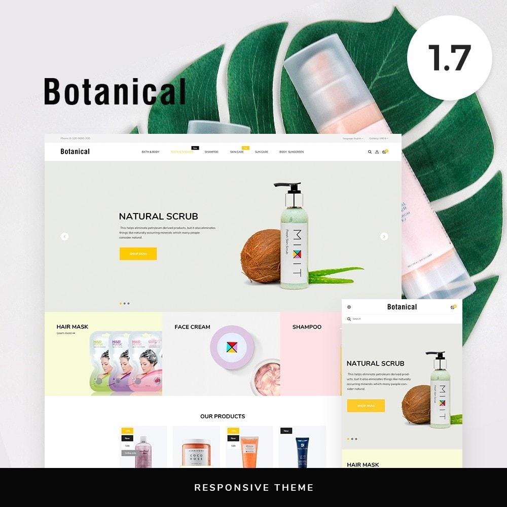 theme - Health & Beauty - Botanica Cosmetics - 1