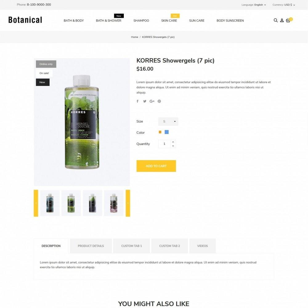 theme - Health & Beauty - Botanica Cosmetics - 6