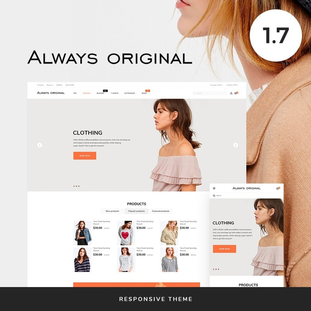 theme - Fashion & Shoes - Always original Fashion Store - 1