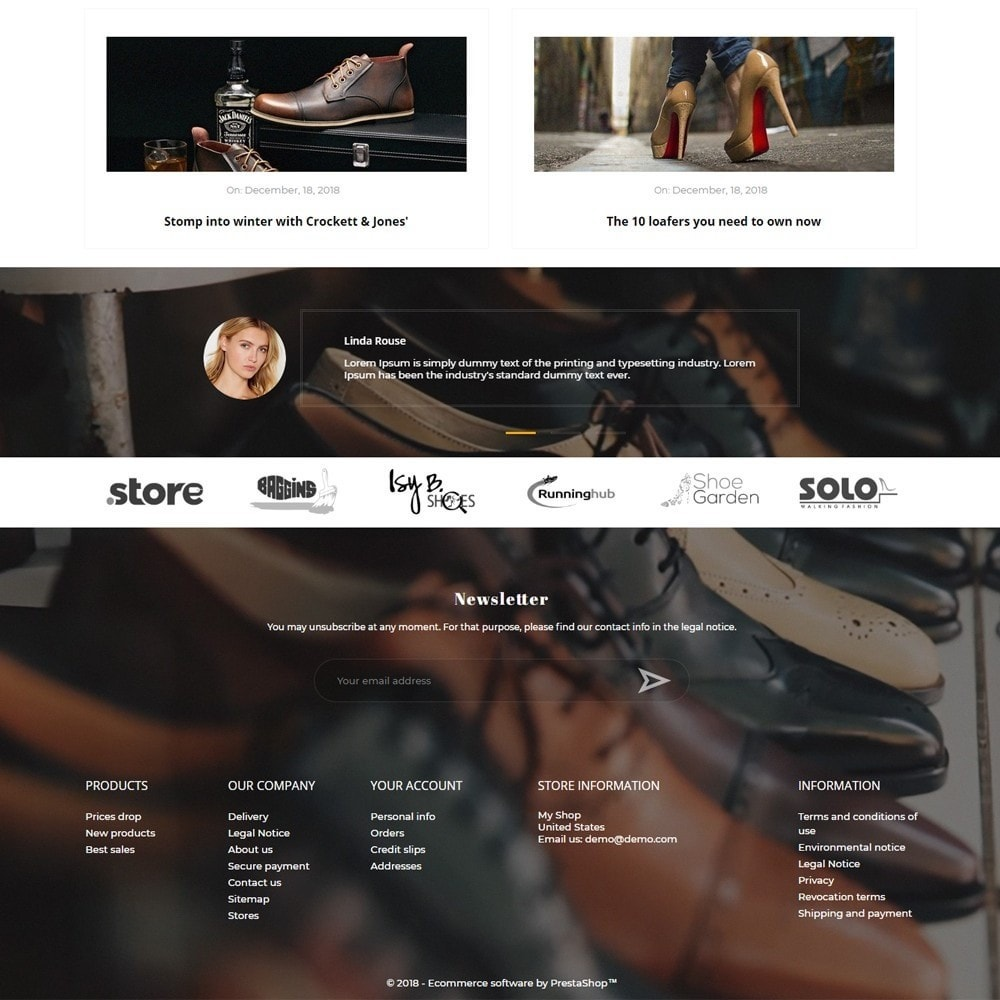 theme - Fashion & Shoes - Clerk Shop - 4