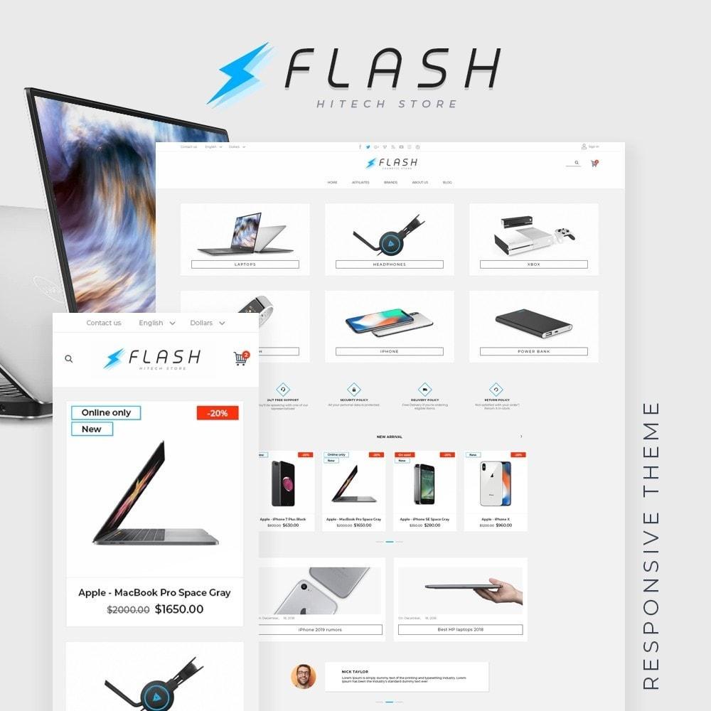 theme - Electronics & Computers - Flash - High-tech Shop - 1