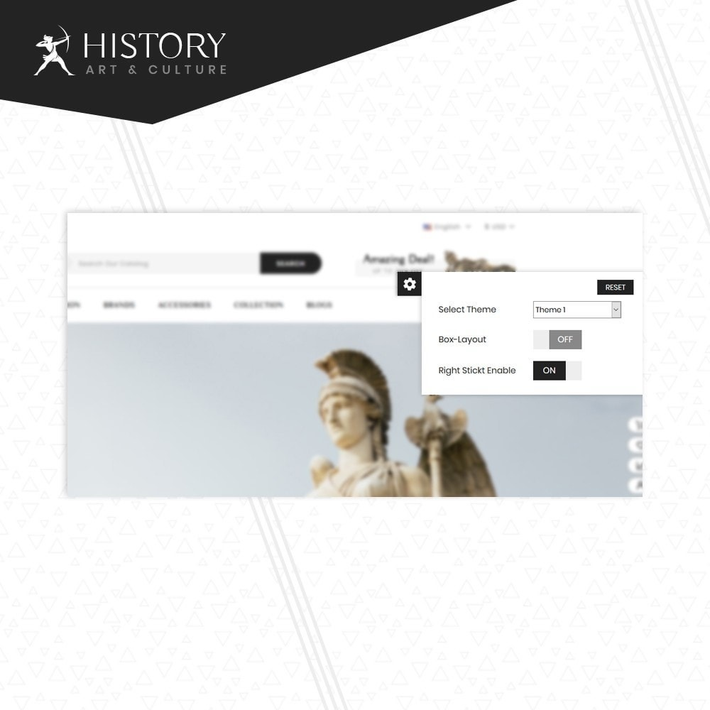 theme - Kultura & Sztuka - Art & Sculpture Store Template - 7