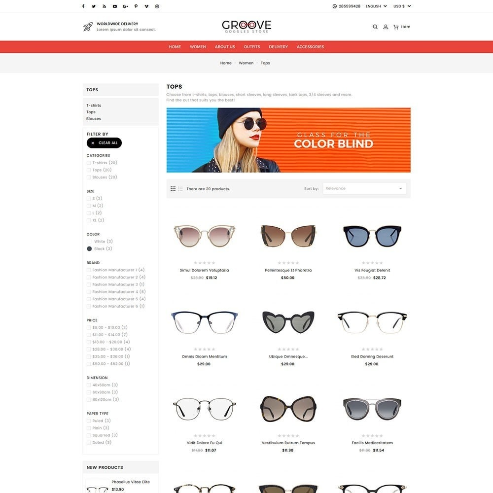 theme - Jewelry & Accessories - Groove Goggles Store - 6