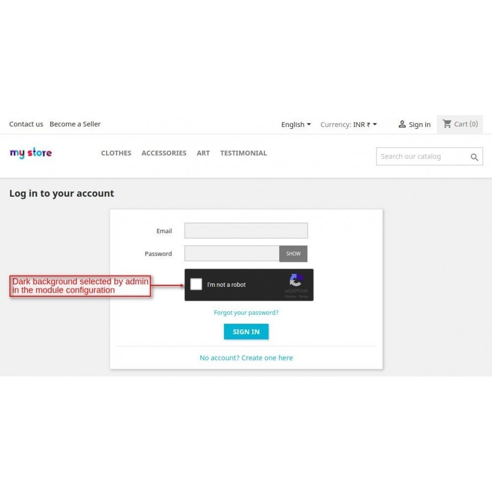 module - Sécurité & Accès - Webkul ReCaptcha - Enhanced Security - 7