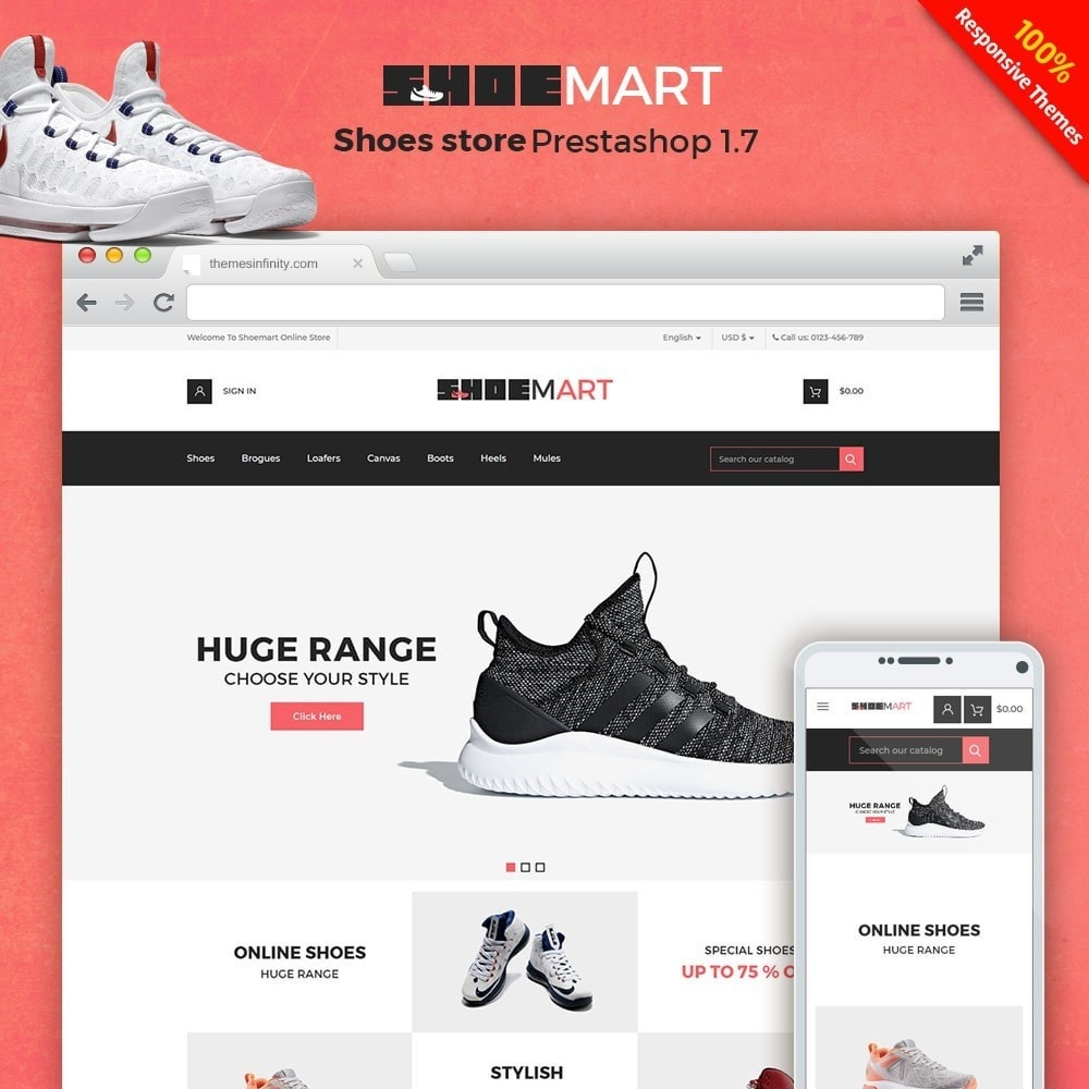 theme - Mode & Chaussures - Shoemart - Shoes Online Store - 1