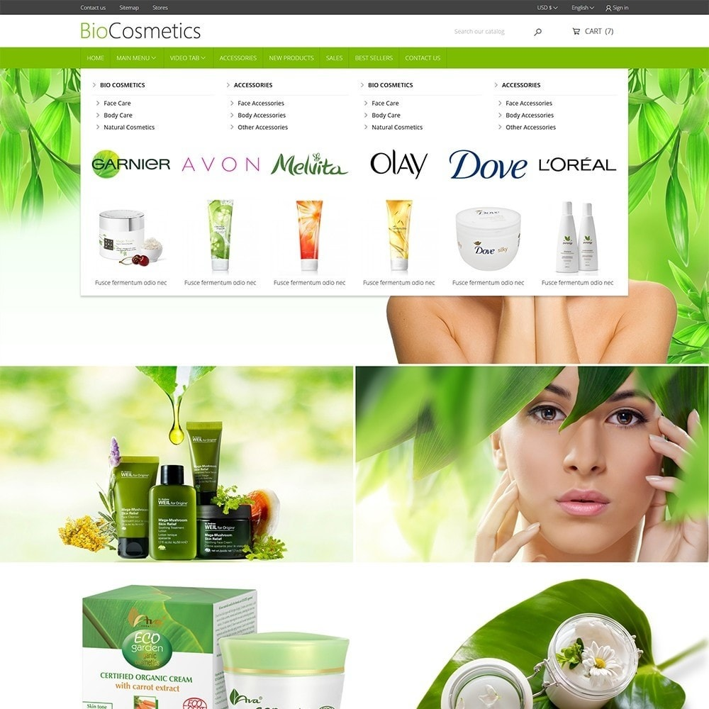 theme - Health & Beauty - DT Bio Cosmetic - 3