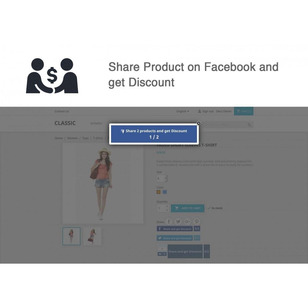 module - Cupons de desconto de redes sociais - Social Referrals (3 in 1) - 9
