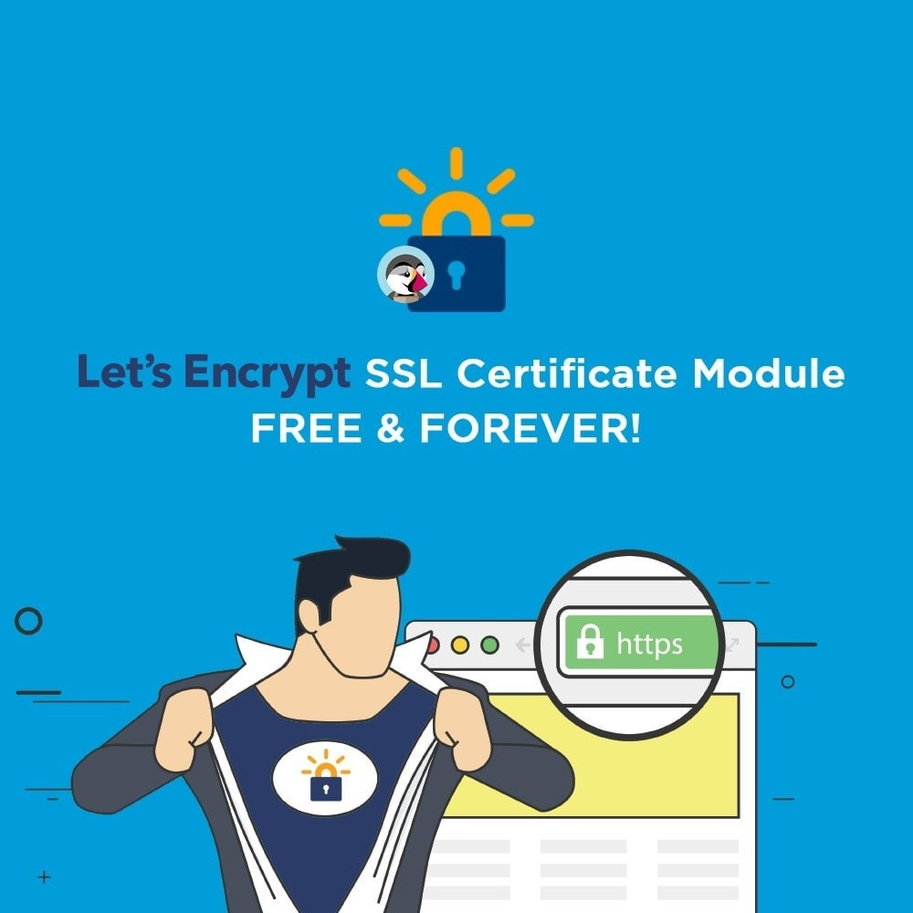 module - SEO (référencement naturel) - Free SSL certificate by Let's Encrypt - 1