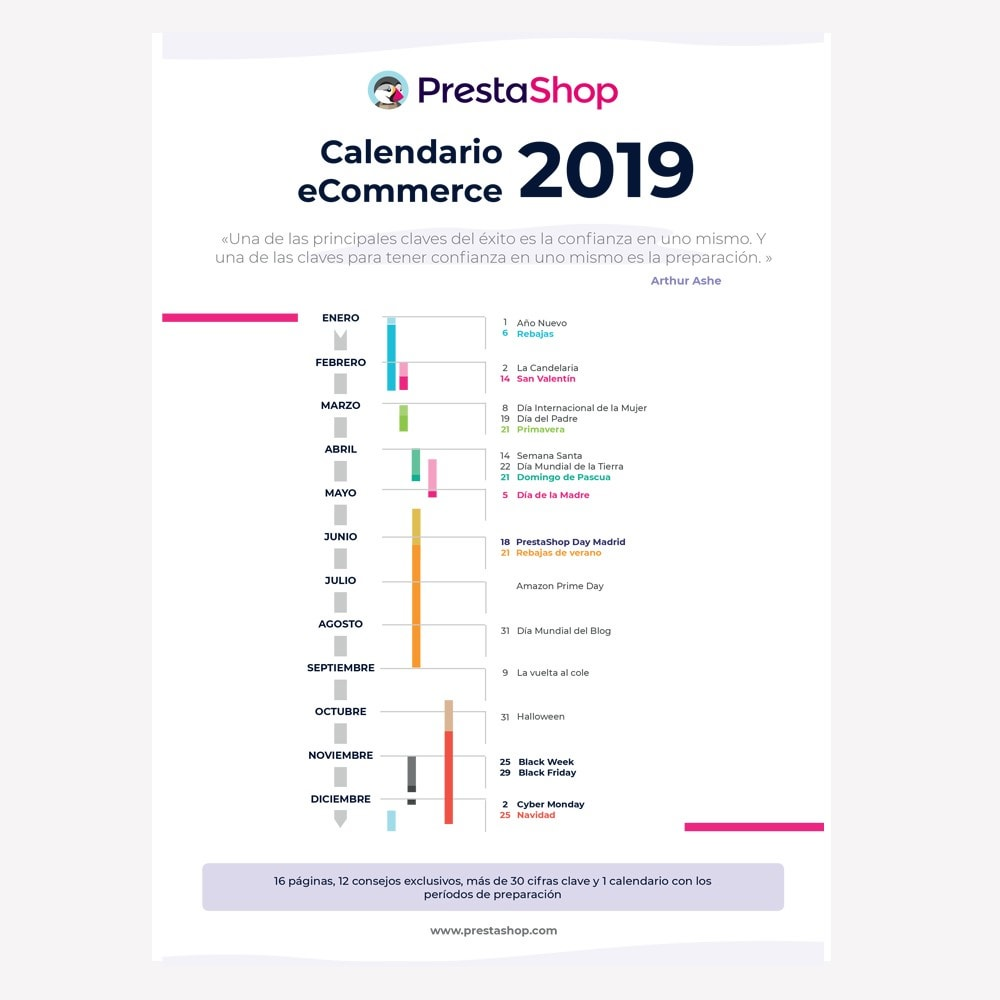 other - Calendario eCommerce - Spanish 2019 eCommerce Calendar - 1