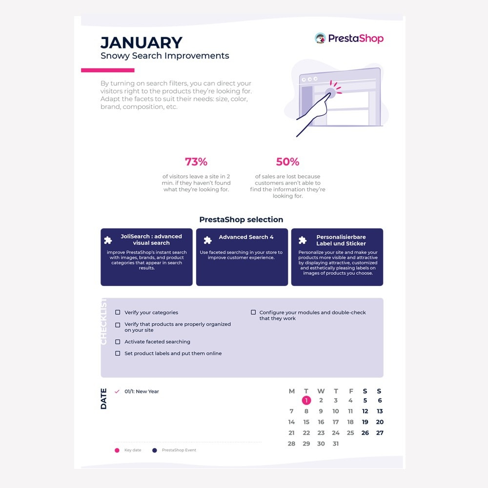 other - Kalender e-commerce - US 2019 eCommerce Calendar - 2