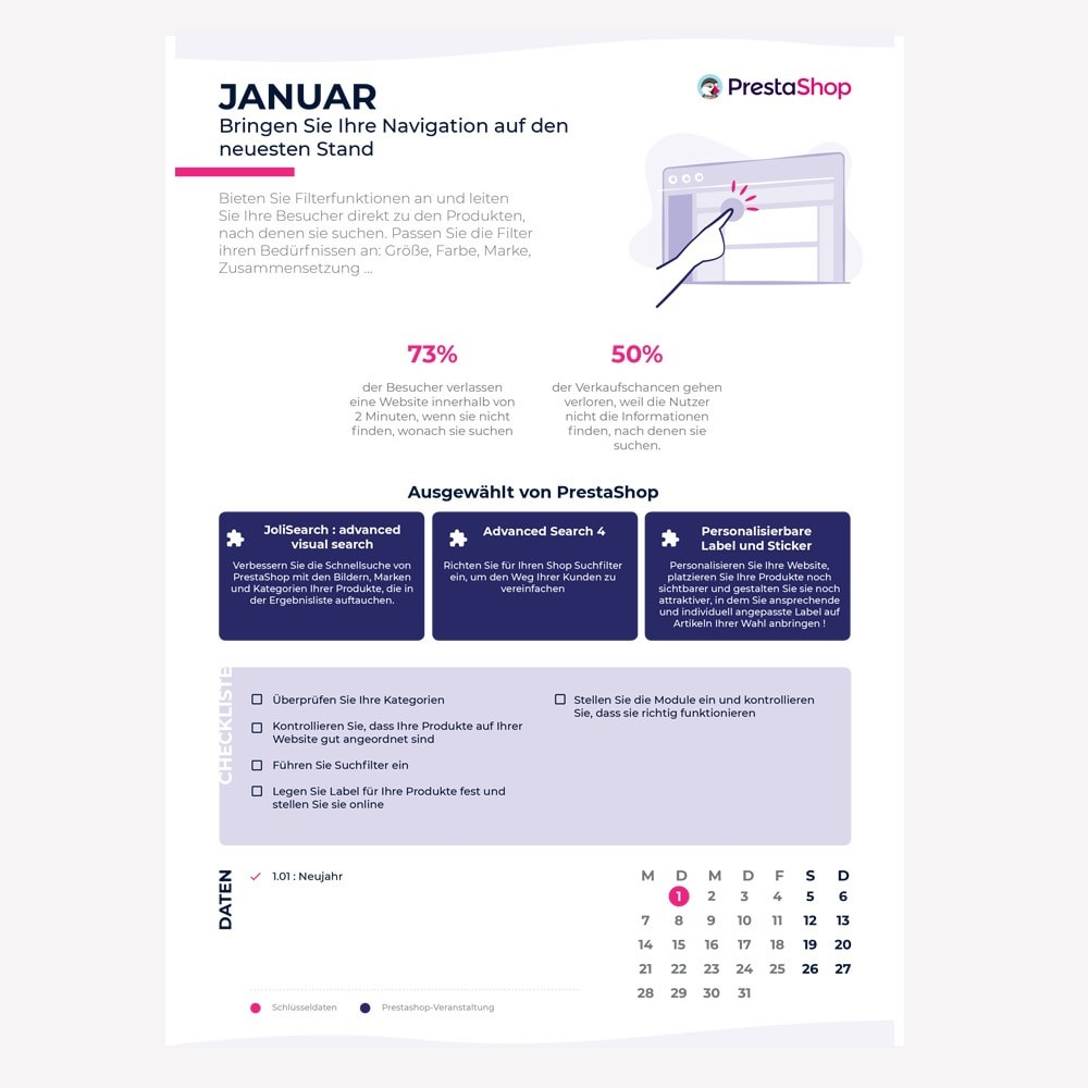 other - Kalendarz e-commerce - Germany 2019 eCommerce Calendar - 2