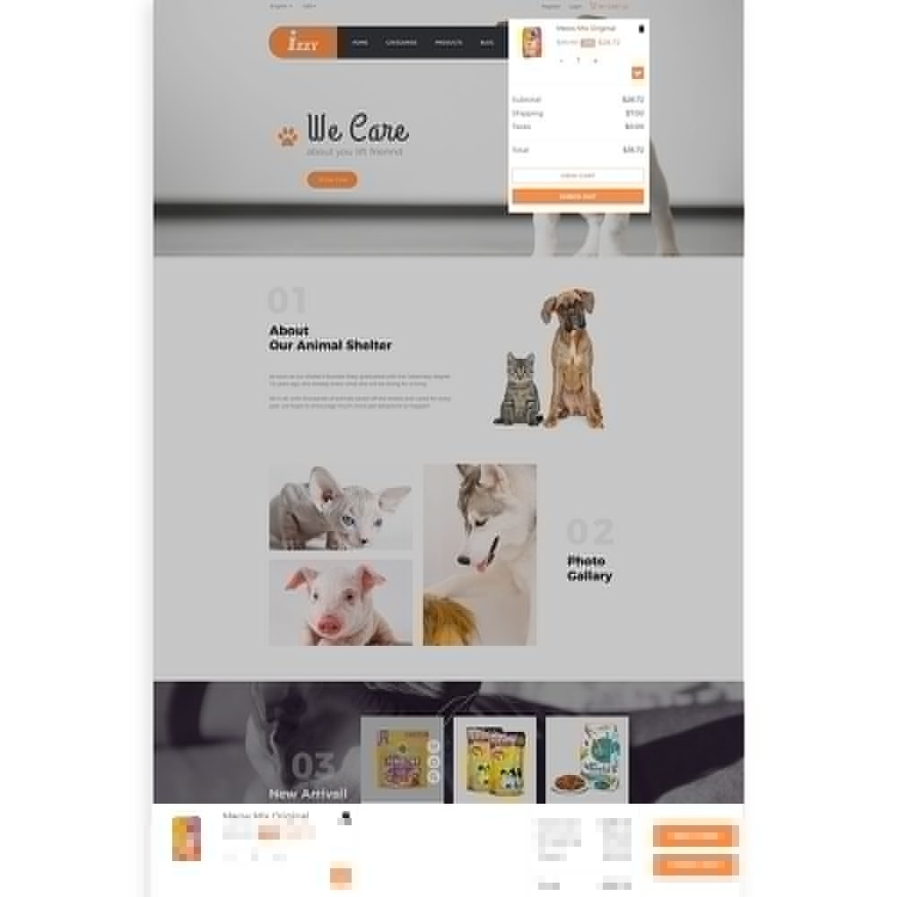 theme - Animali - Bos Izzy Pet Shop & Veterinary Clinic - 9