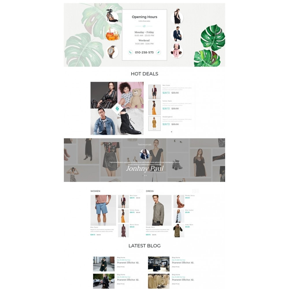 theme - Мода и обувь - Sara Fashion Cloth Store - 3