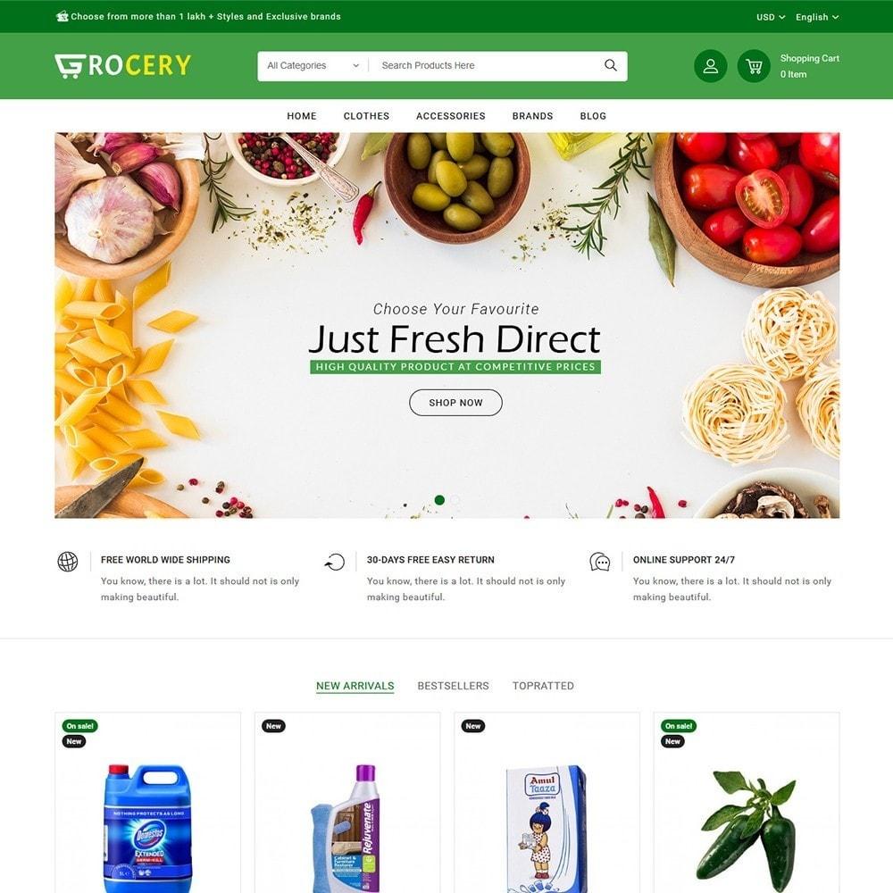 theme - Żywność & Restauracje - Grocery Store - 2