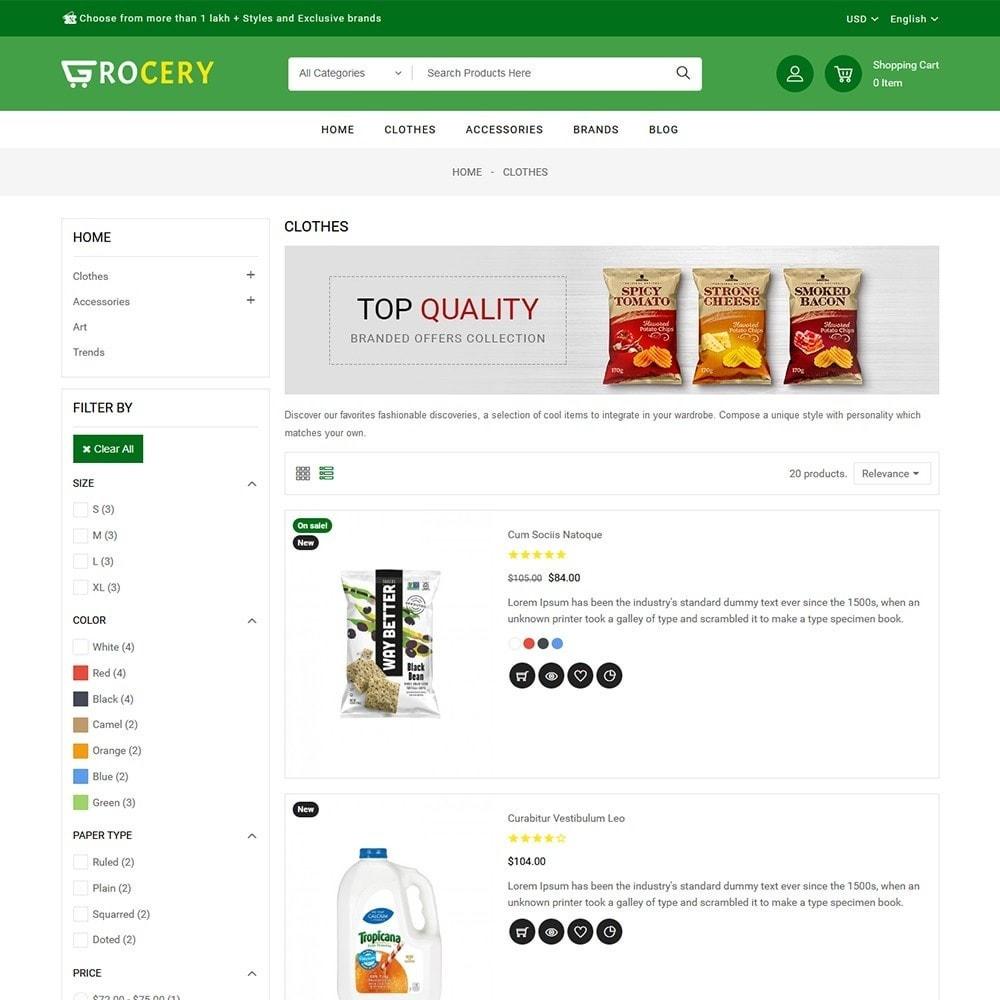 theme - Żywność & Restauracje - Grocery Store - 4