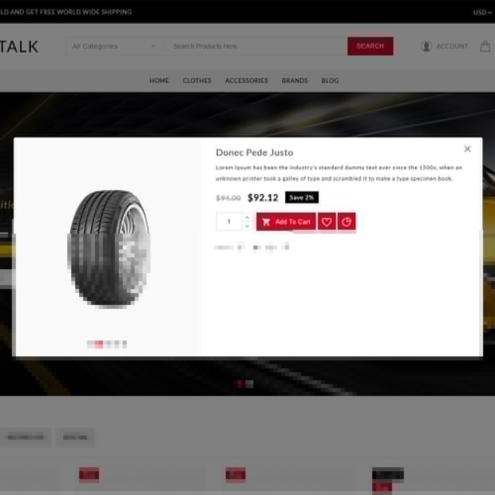 theme - Carros & Motos - ShopTalk Auto-parts Store - 7
