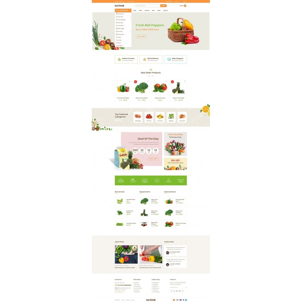 theme - Lebensmittel & Restaurants - Natour - 6