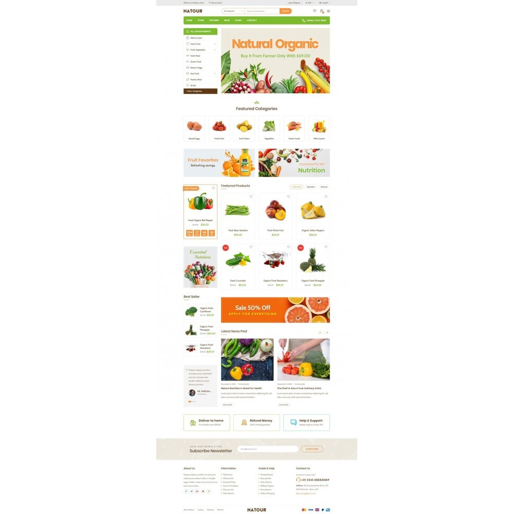 theme - Lebensmittel & Restaurants - Natour - 8