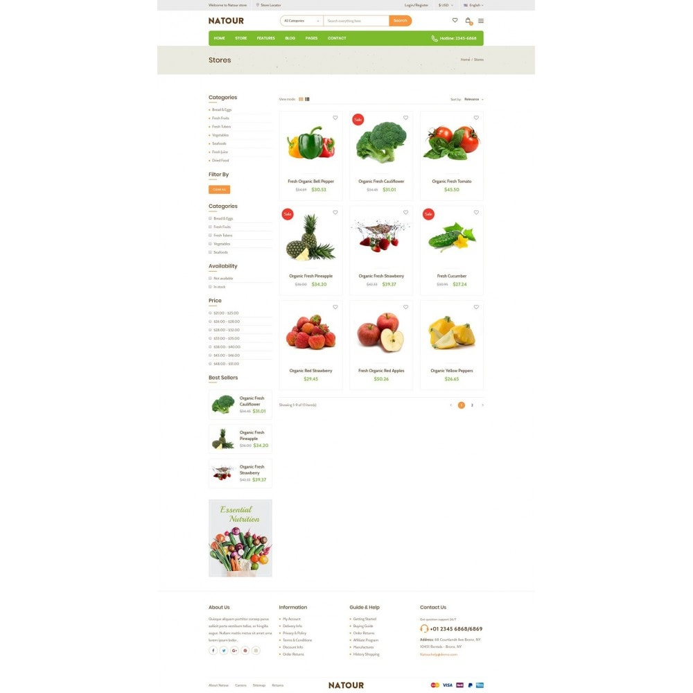 theme - Lebensmittel & Restaurants - Natour - 9