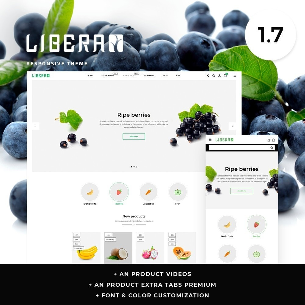 theme - Food & Restaurant - Libera - 1