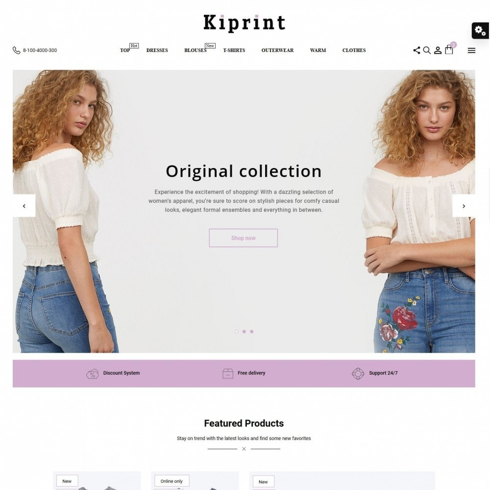 theme - Fashion & Shoes - Kiprint Fashion Store - 2
