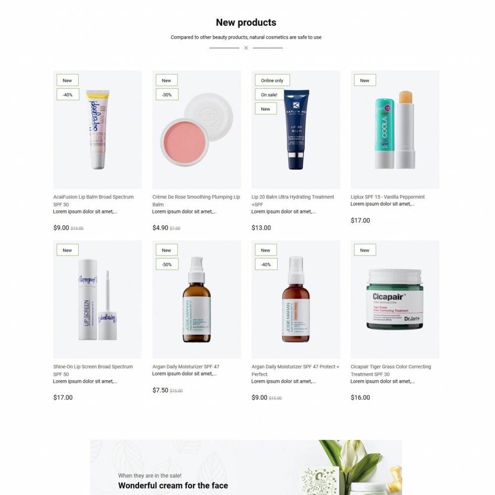 theme - Health & Beauty - Veritable Cosmetics - 3