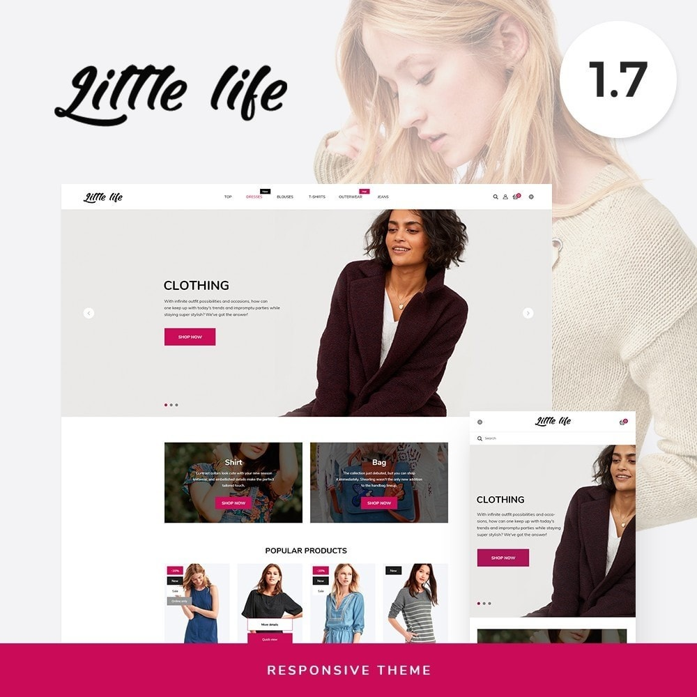 theme - Fashion & Shoes - Little life Fashion Store - 1
