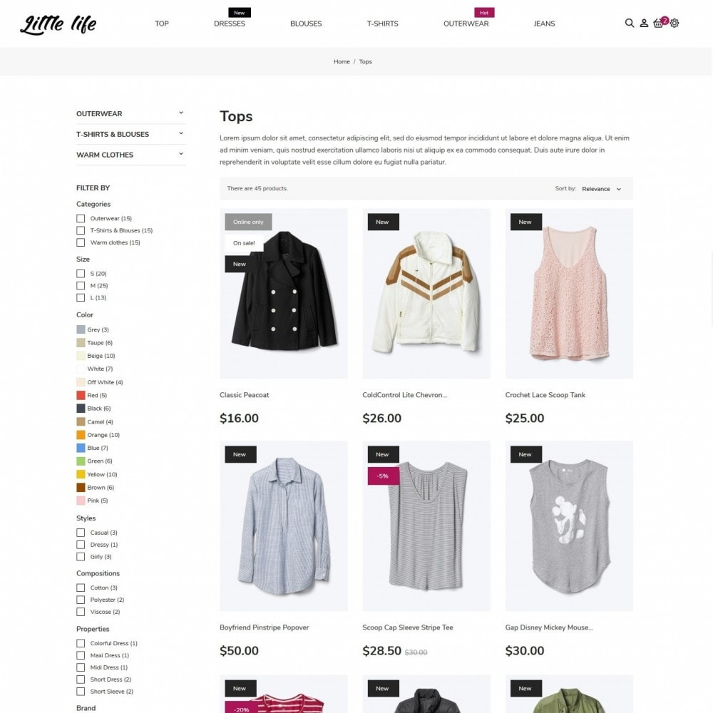 theme - Fashion & Shoes - Little life Fashion Store - 5