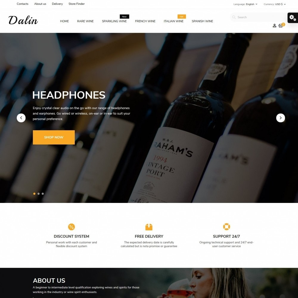 theme - Drink & Tobacco - Dalin Shop - 2