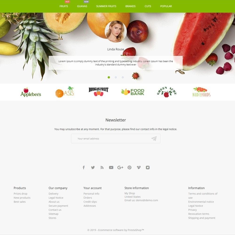 theme - Food & Restaurant - Pure Fruit - 4