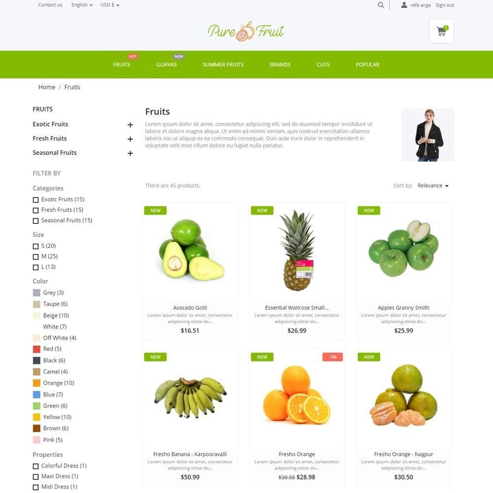 theme - Food & Restaurant - Pure Fruit - 5