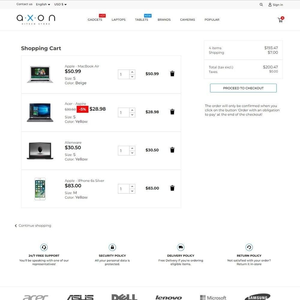 theme - Electronics & Computers - Axon - High-tech Shop - 7