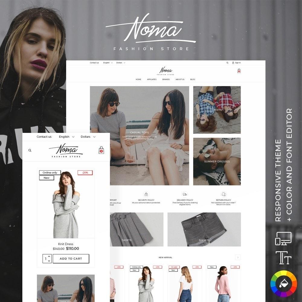 theme - Fashion & Shoes - Noma Fashion Store - 1