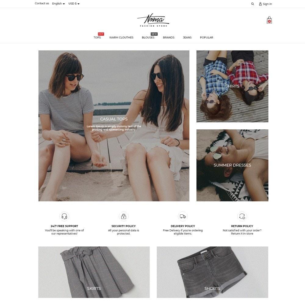 theme - Fashion & Shoes - Noma Fashion Store - 2