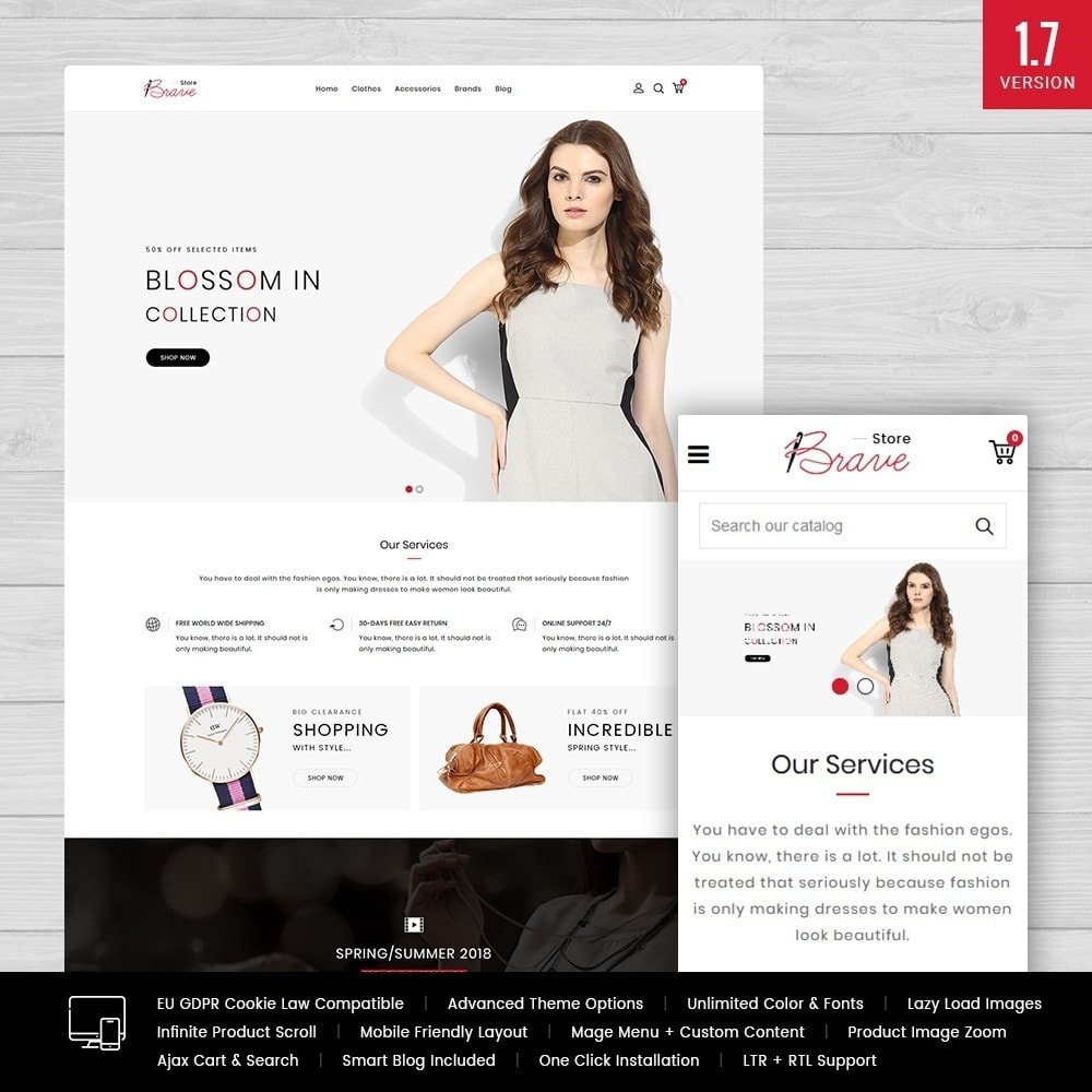 theme - Mode & Chaussures - Brave Fashion Store - 1