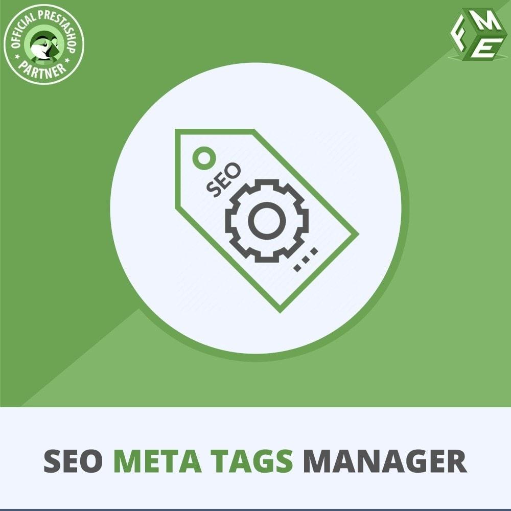 module - SEO (Indicizzazione naturale) - Meta Tag Manager - AutoGenerate SEO Title & Description - 1