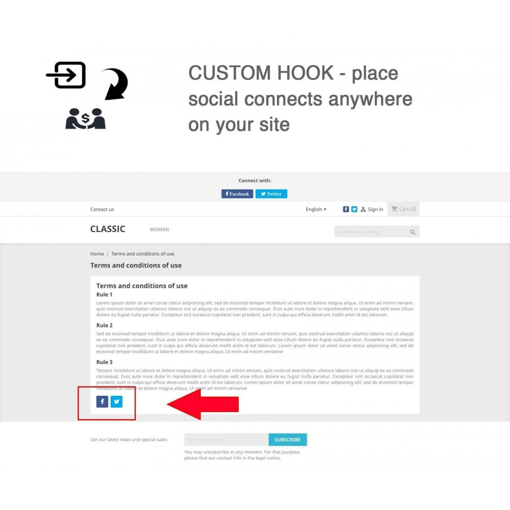 module - Descuentos en redes sociales - Social Referrals + Connects (2 in 1) - 15