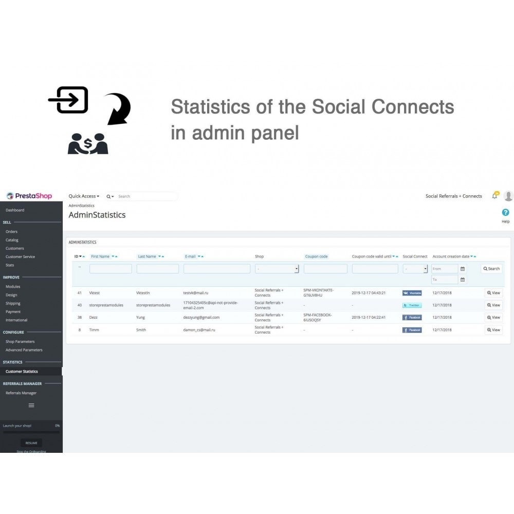 module - Descuentos en redes sociales - Social Referrals + Connects (2 in 1) - 26