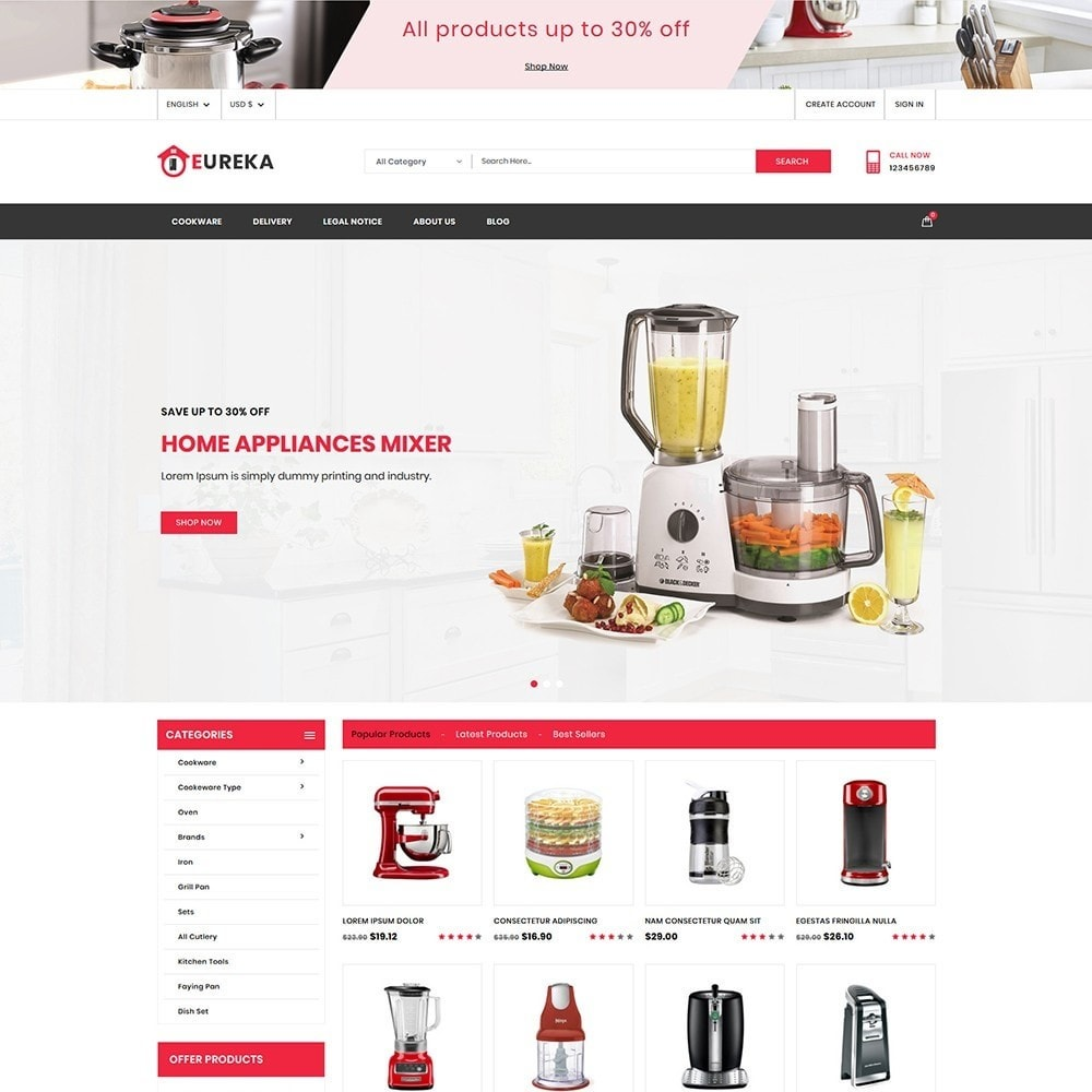 theme - Heim & Garten - Eureka Home Appliances - 2