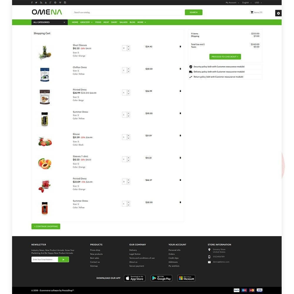 theme - Health & Beauty - Omena - The Grocery Shop - 4
