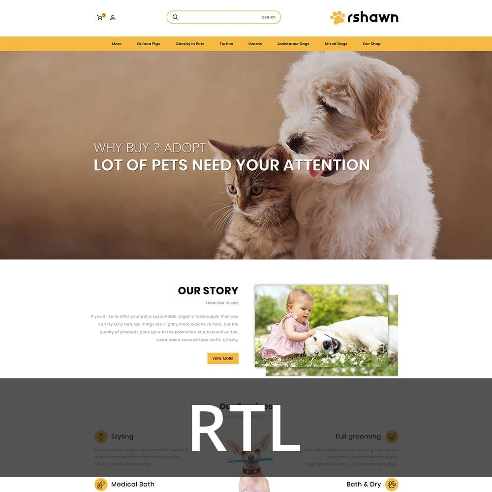 theme - Animali - Rshawn - The Pet Shop - 3