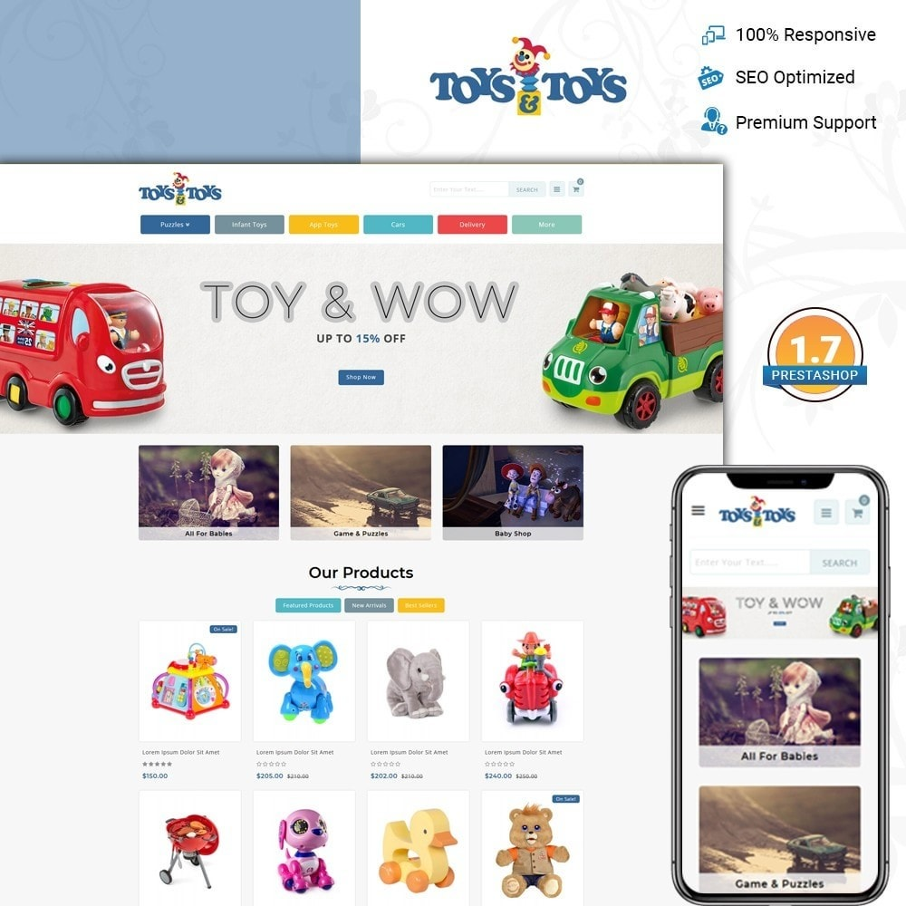 theme - Kids & Toys - Toys and Toys Store - 1