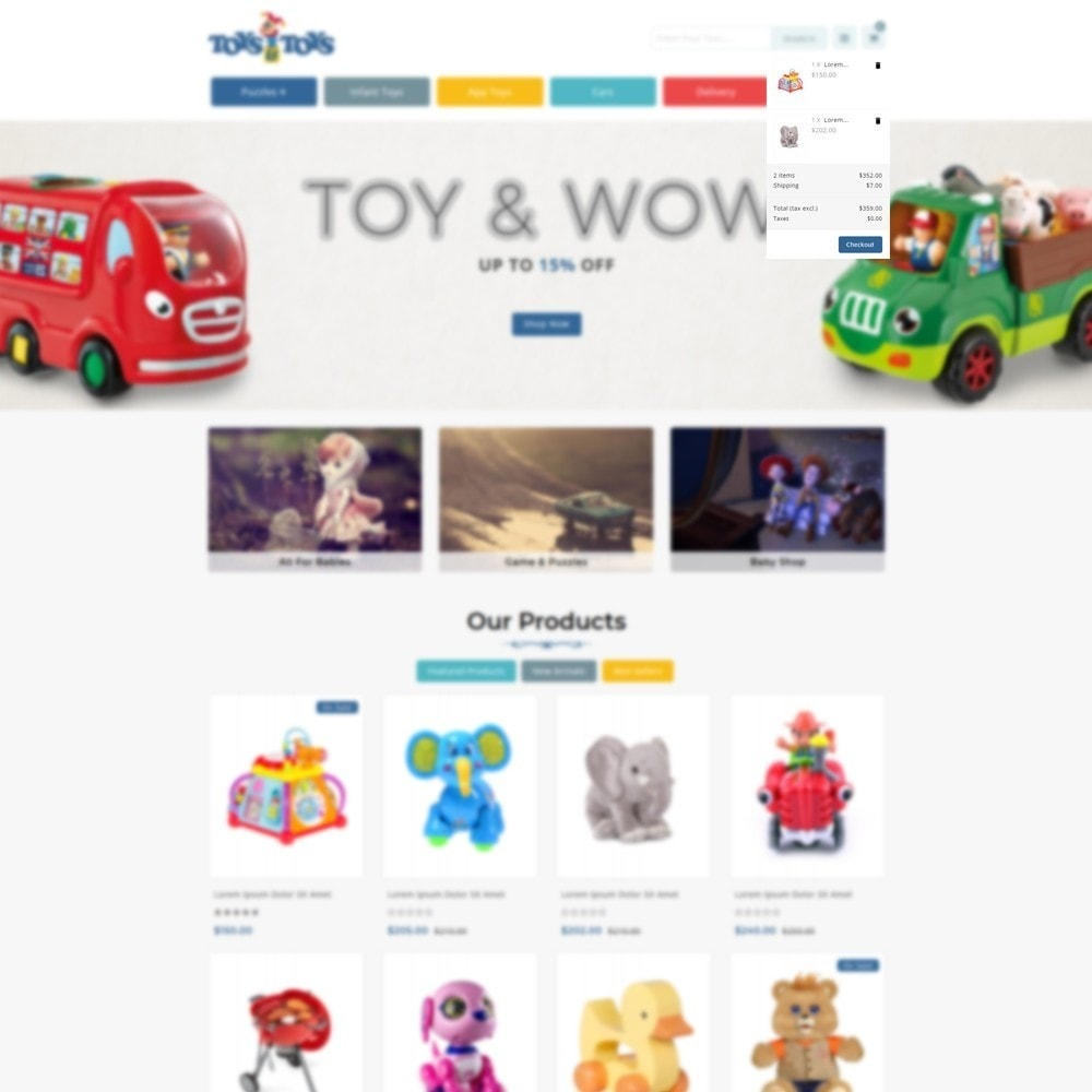 theme - Kids & Toys - Toys and Toys Store - 6