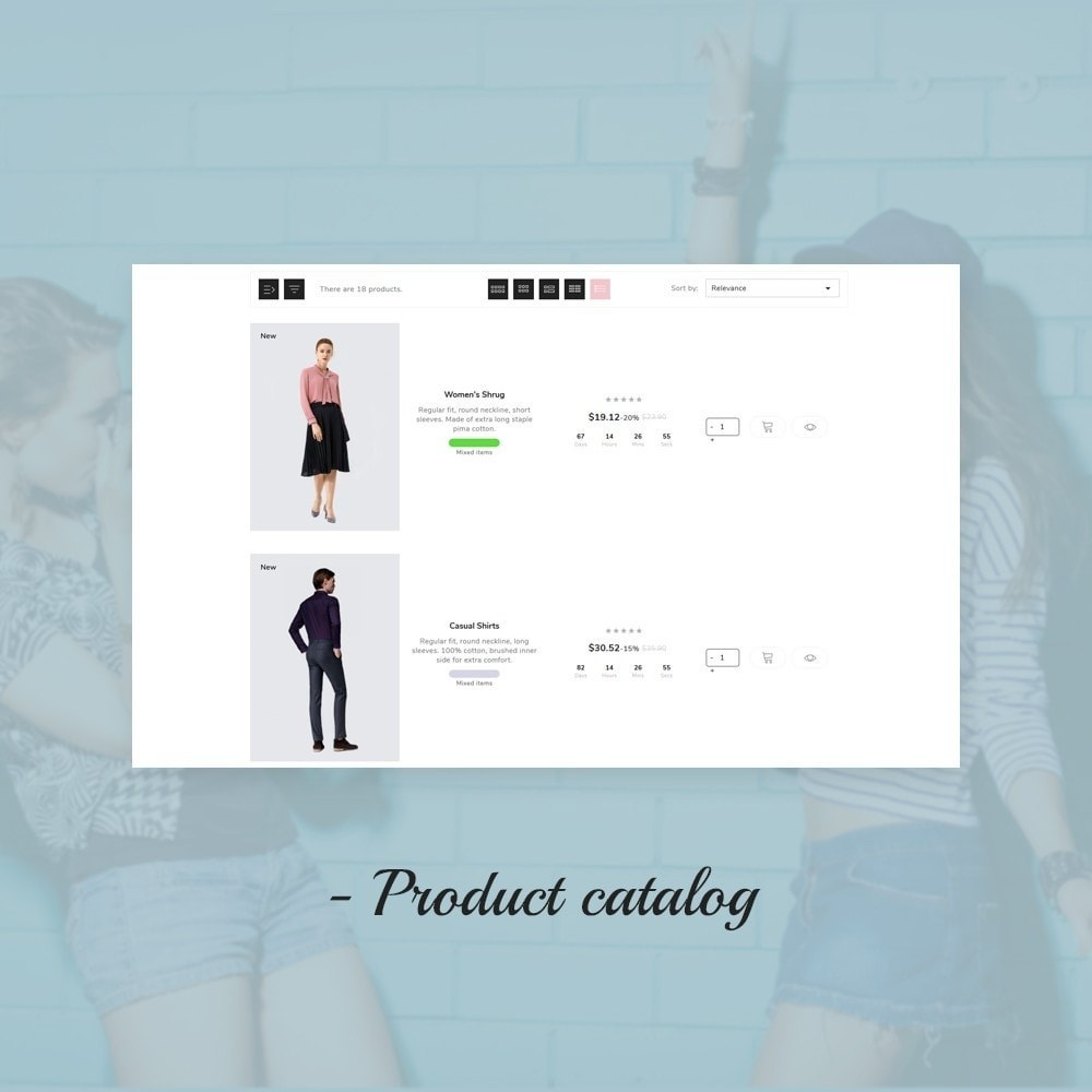 theme - Mode & Chaussures - Mountain Fashion Store - 11